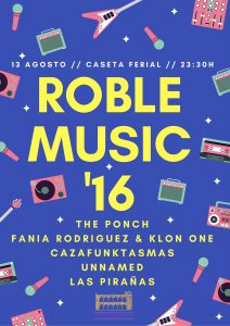 Roble Music 2016