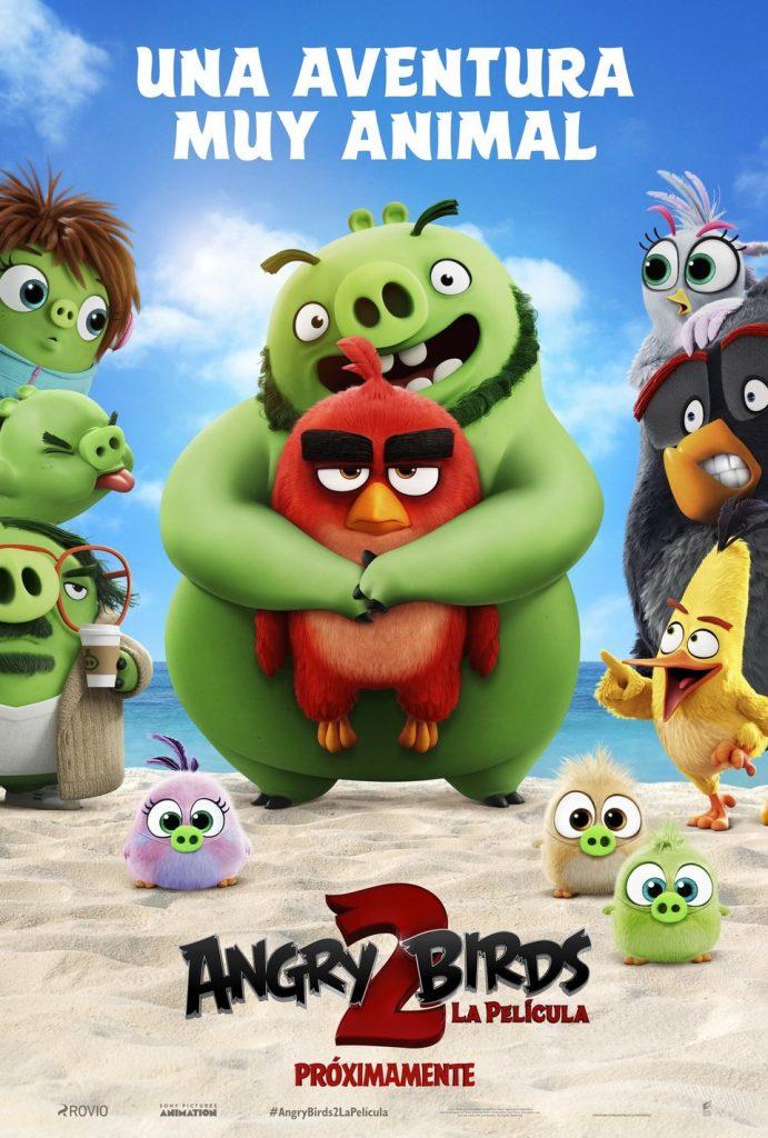 """Cartel de la película """"Angry Birds 2"""""""